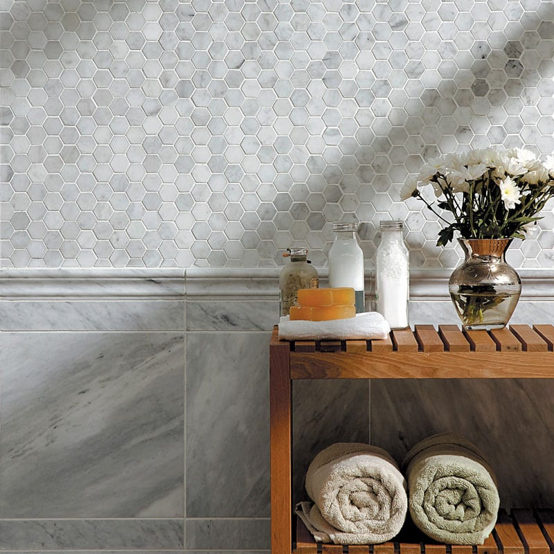 carrara dark marble the master of marbles white black grey exotic natural stone pietramosaic denmar projects