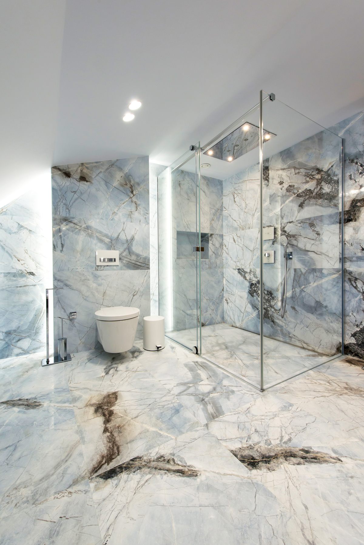 bluetta marble the master of marbles white black grey exotic natural stone pietramosaic denmar